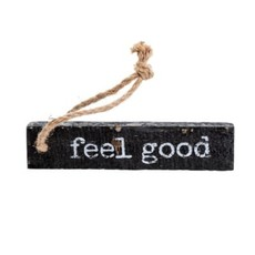 Indaba Feel Good Wooden Note