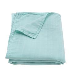 Ali+Oil Ali+Oli Muslin Swaddle Blanket (Mint)