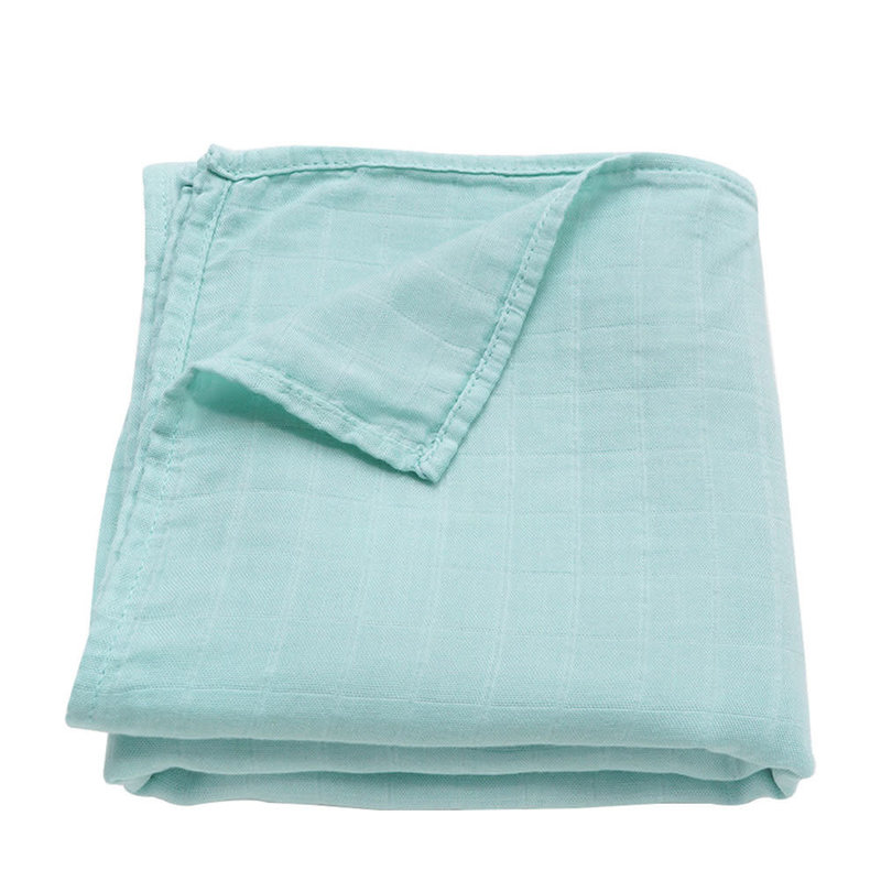 Ali+Oil Ali+Oli Muslin Swaddle Blanket (Mint)
