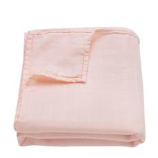 Ali+Oil Ali+Oli Muslin Swaddle Blanket (Light Peach)