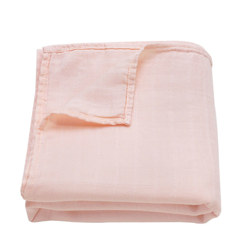 Ali+Oil Ali+Oli Muslin Swaddle Blanket (Light Peach)