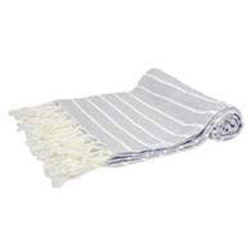 Faire Mini Turkish Towel - Stone