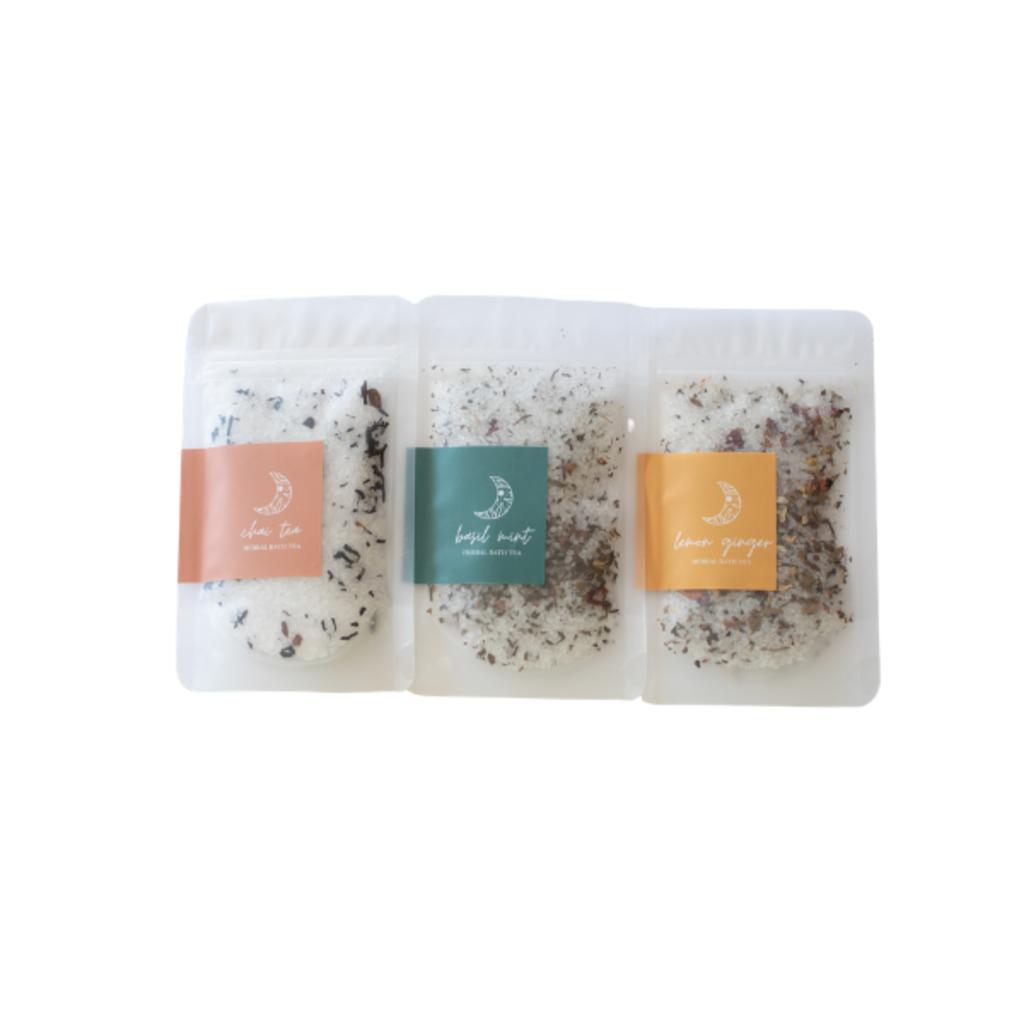 Benjamin Soap Company Herbal Bath Tea  - Basil Mint