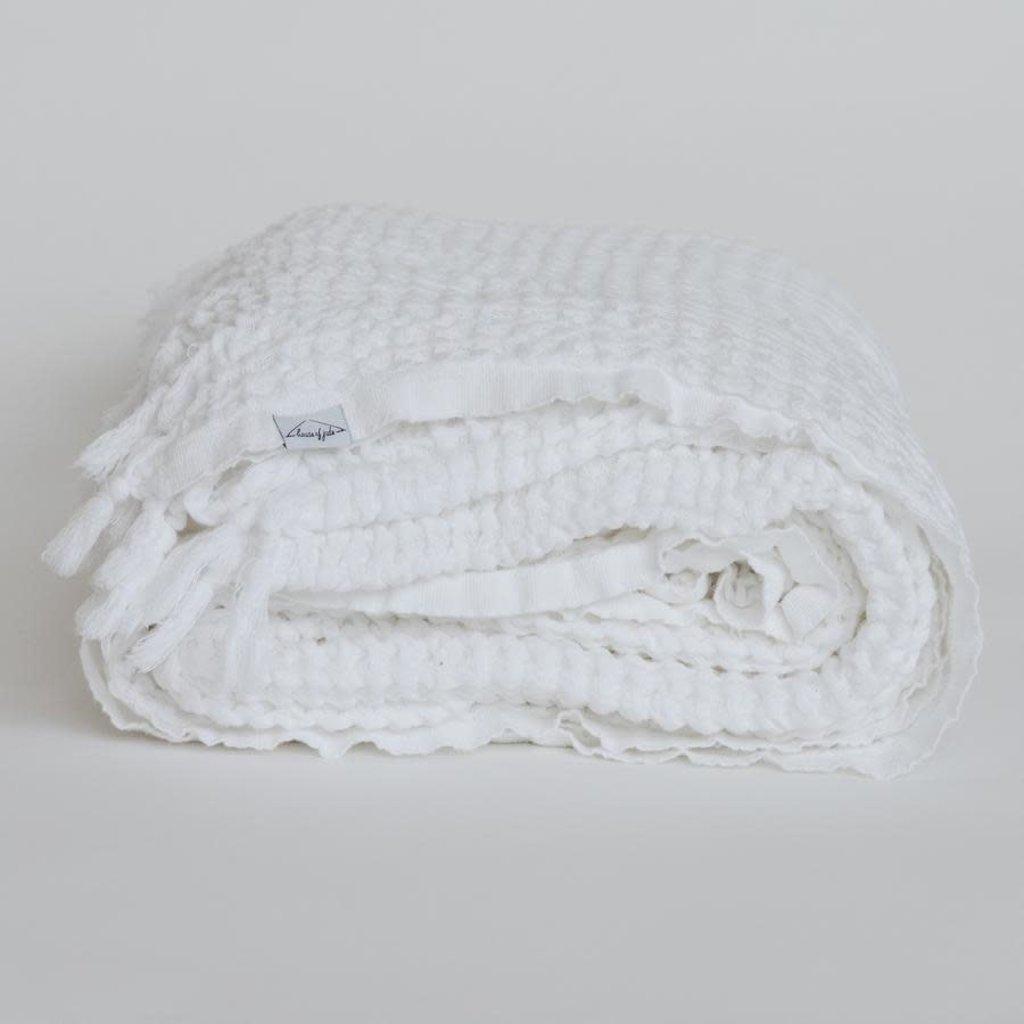 Waffle Blanket - Piccola - White