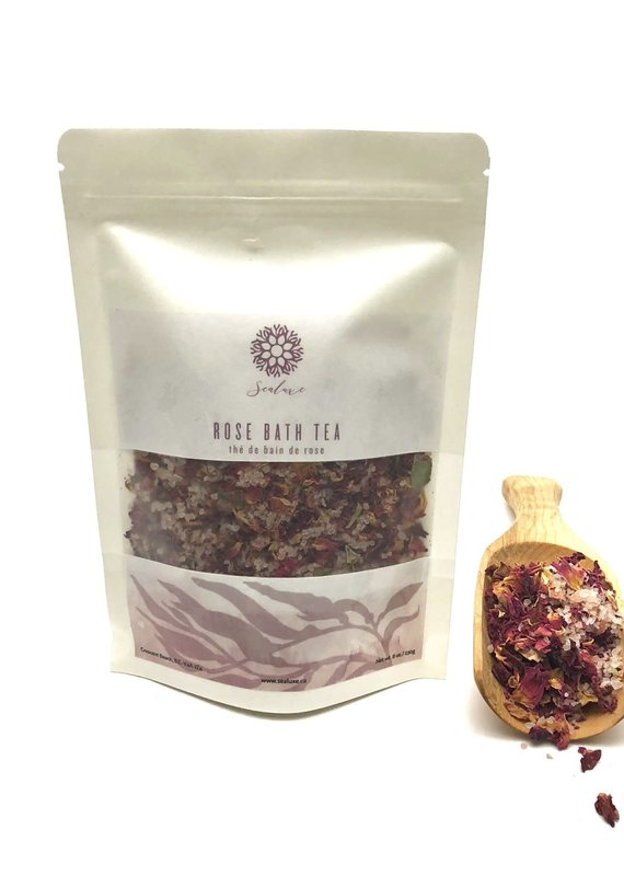 Sea Luxe Ritual Rose Bath Tea 200g