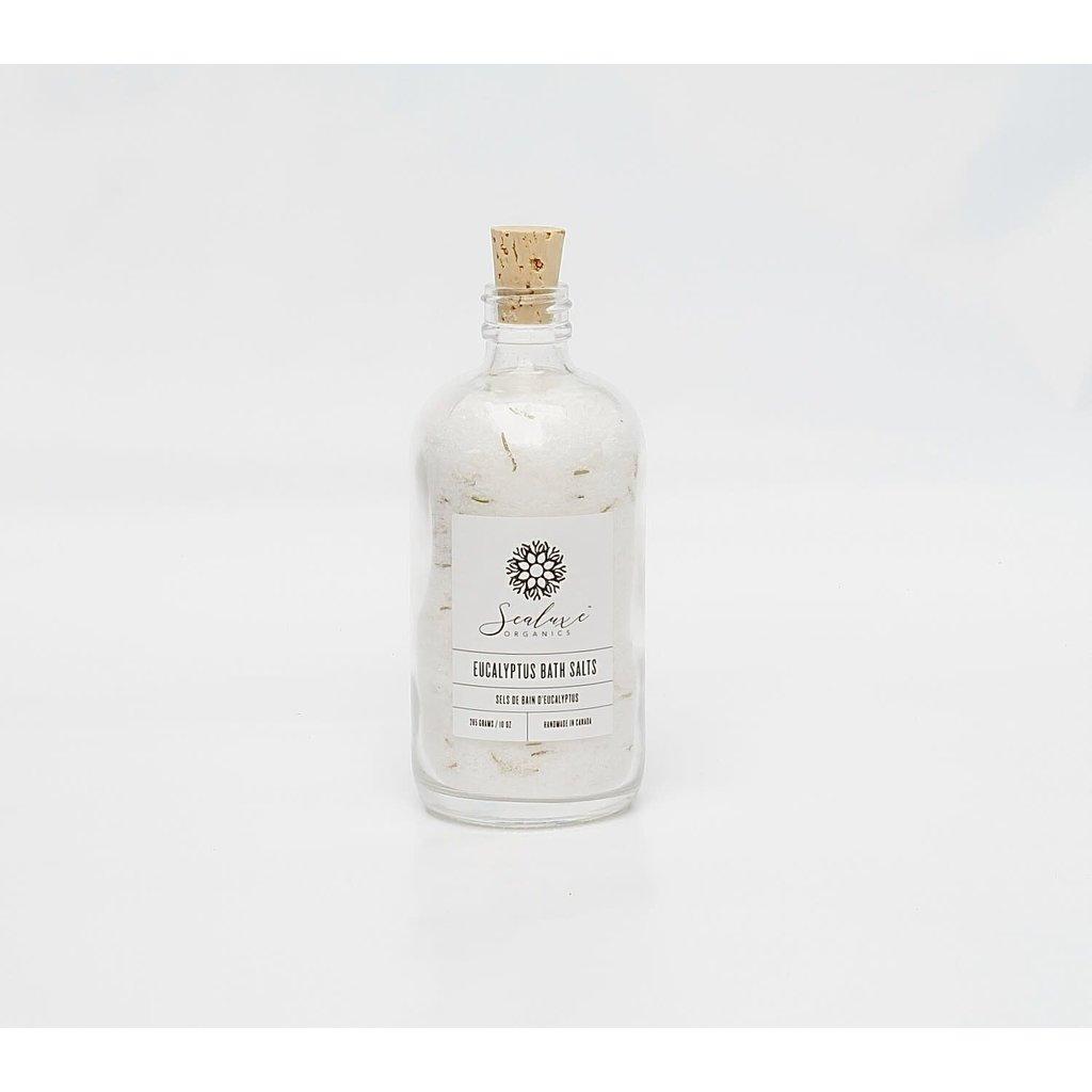Sea Luxe Eucalyptus Bath Salts with Rosemary