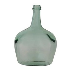 Creative Coop RECYCLED GLASS BOTTLE