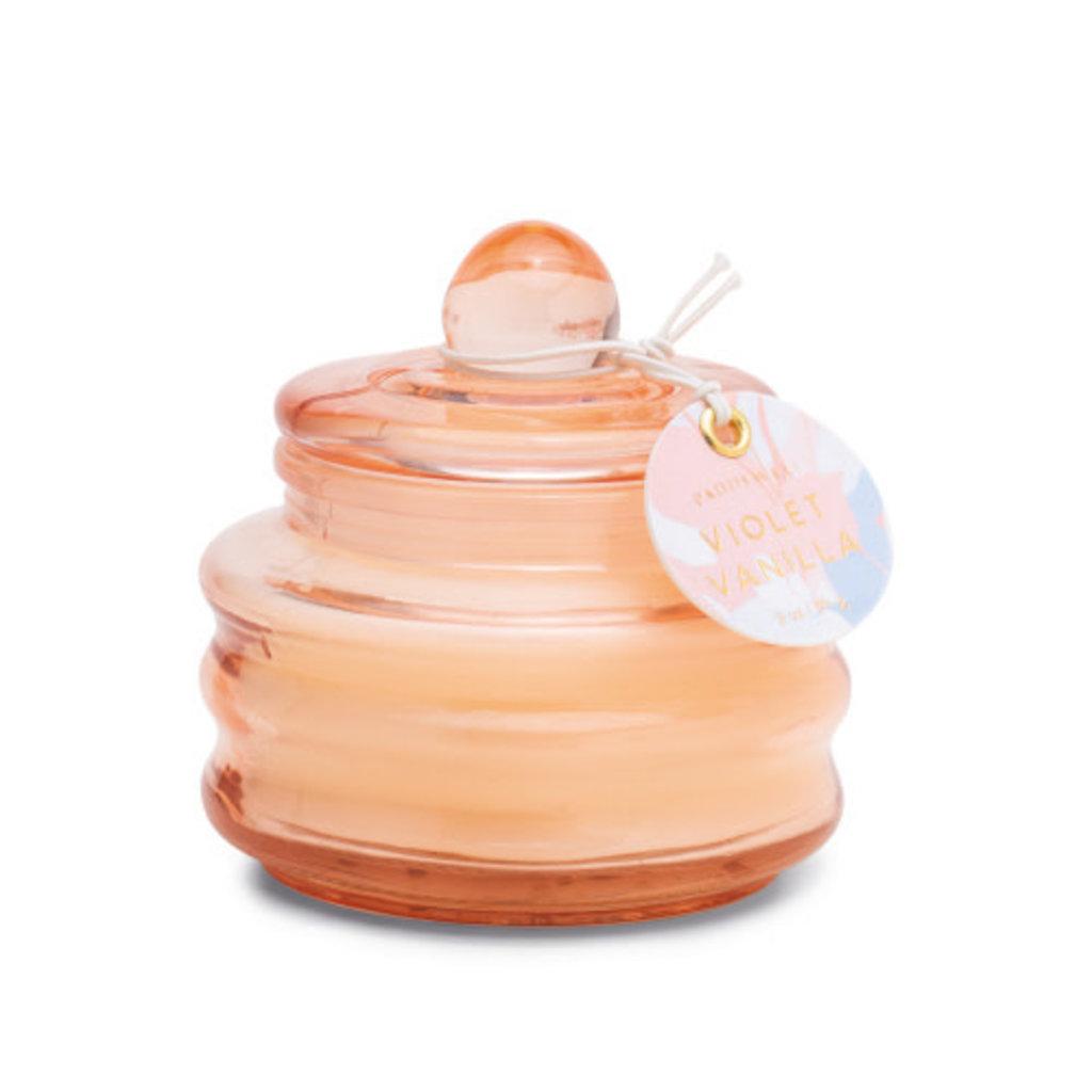 Paddywax BEAM 3 OZ BLUSH GLASS - VIOLET VANILLA