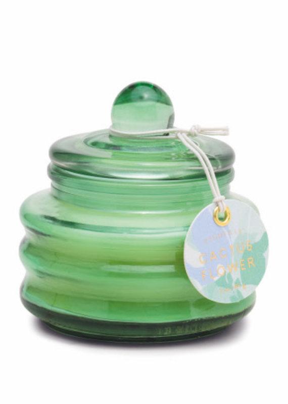 Paddywax BEAM 3 OZ MINT GREEN GLASS - CACTUS FLOWER