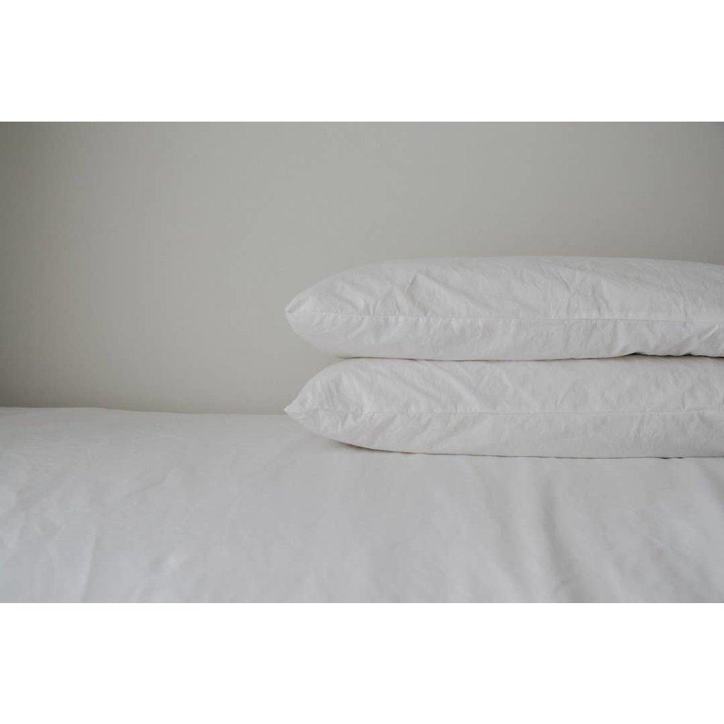 Pillow Case 2 Pack - Standard, White