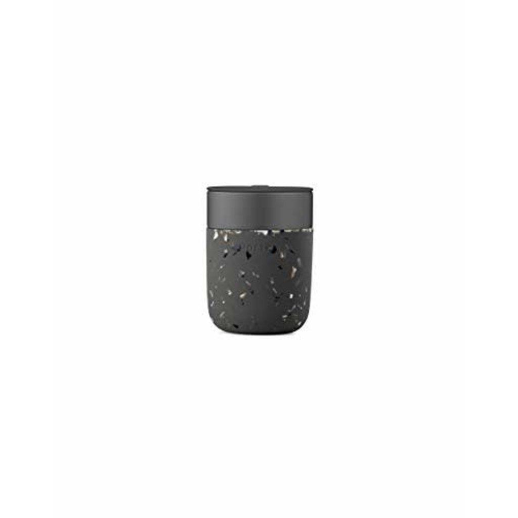 Terrazzo Charcoal Porter Mug - 16 oz