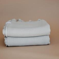 Oversized Turkish Towel - Oat Milk