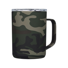 Corkcicle Mug - 16oz Woodland Camo