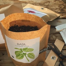 Potting Shed Creations Garden in a Bag | Basil