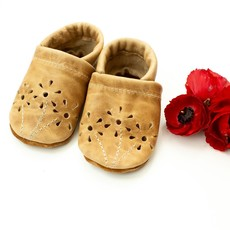 Starry Knight Designs Fawn Blossoms Baby and Toddler Shoes