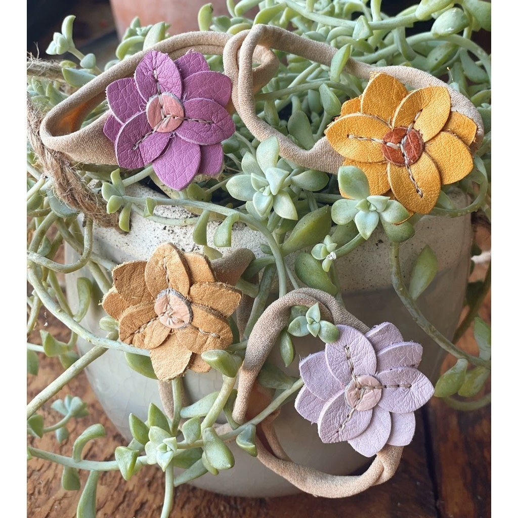 Starry Knight Designs Lily Flower Headbands - Mango