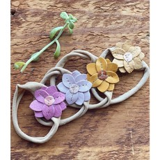 Starry Knight Designs Lily Flower Headbands - Orchid