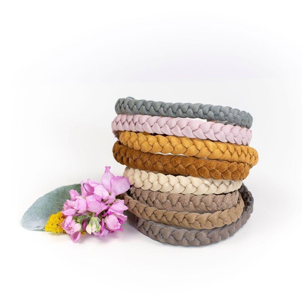 Starry Knight Designs Braided Headband - Mango