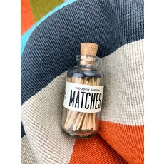 Made Market Co Black Mini Matches