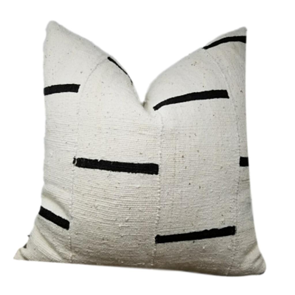 Hudson and Harper DAVU Throw Pillows | African Mudcloth Pillow