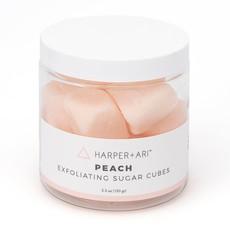 Harper + Ari Exfoliating Sugar Cubes 5.5 oz  Peach
