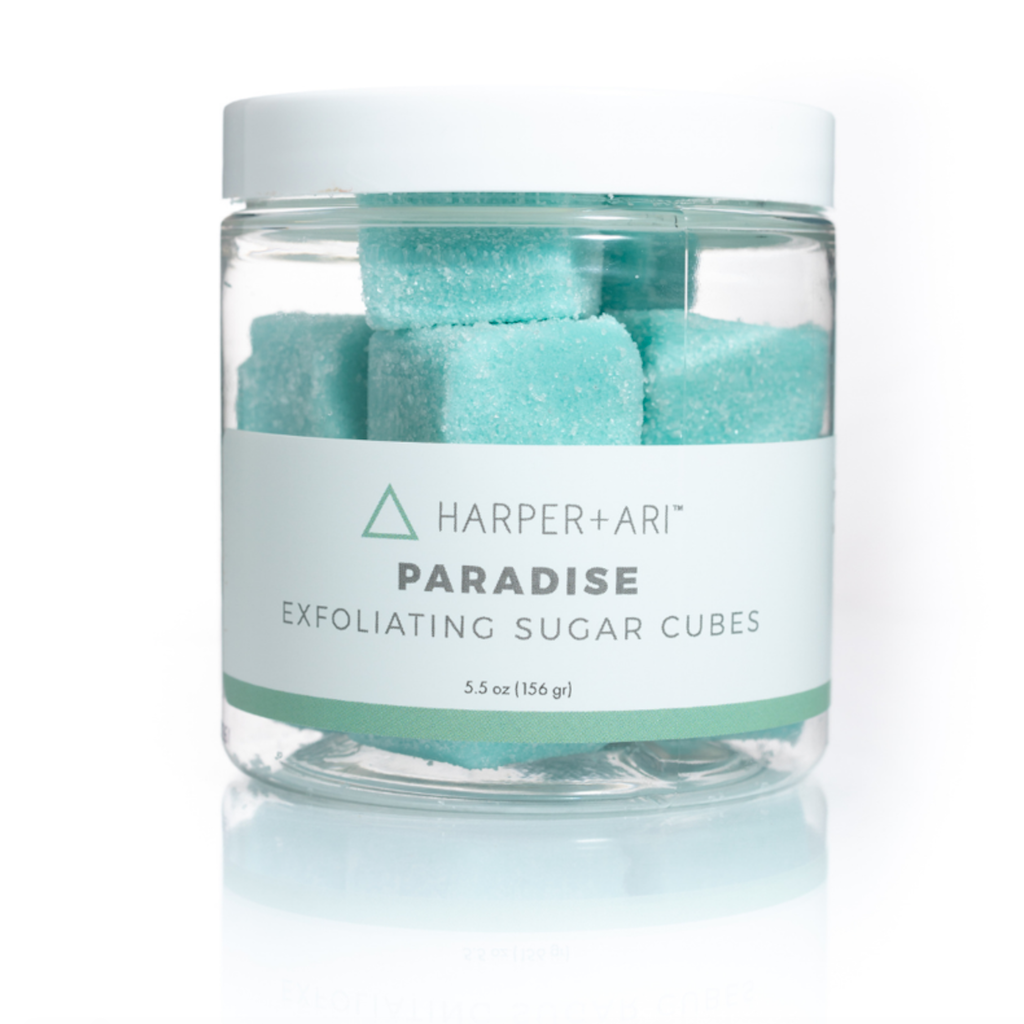 Harper + Ari Paradise Exfoliating Sugar Cubes