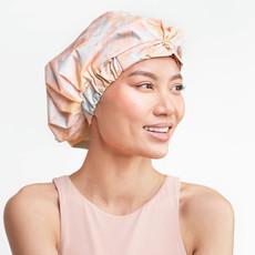 Luxe Shower Cap - Sunset Tie Dye