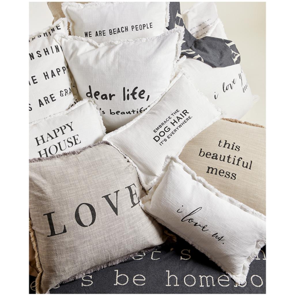 Santa Barbara Design Studio Love Throw Pillow