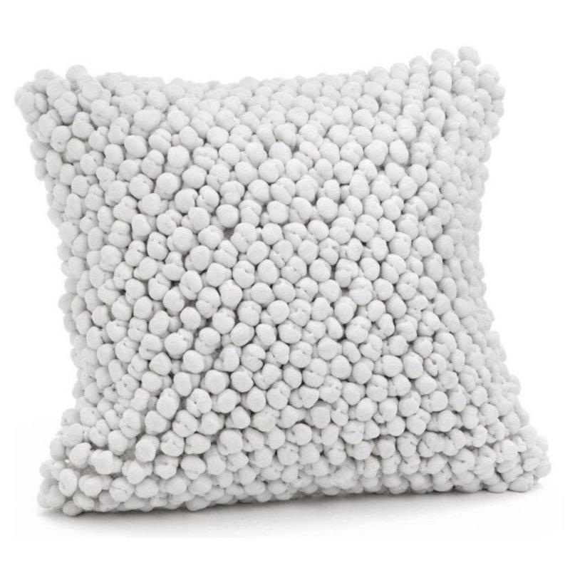 Mankato Popcorn White Pillow Lrg
