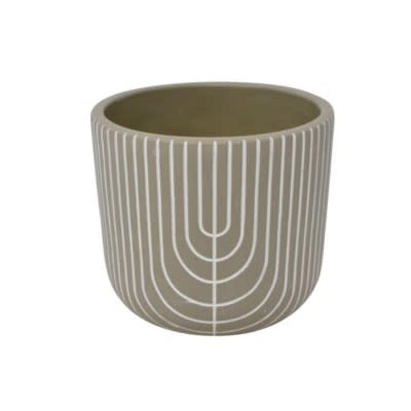 Nostalgia Vase Latin - Grey