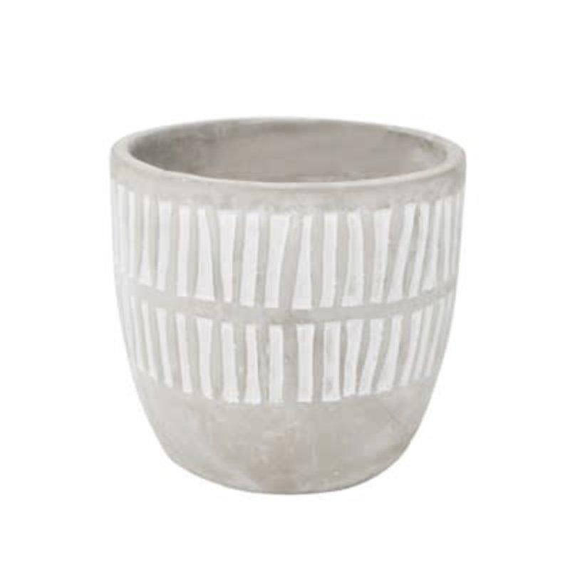 Nostalgia Vase - Cement - White