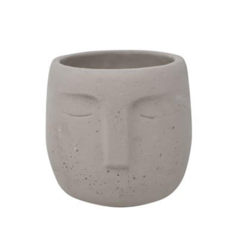 Nostalgia Vase - Cement Face
