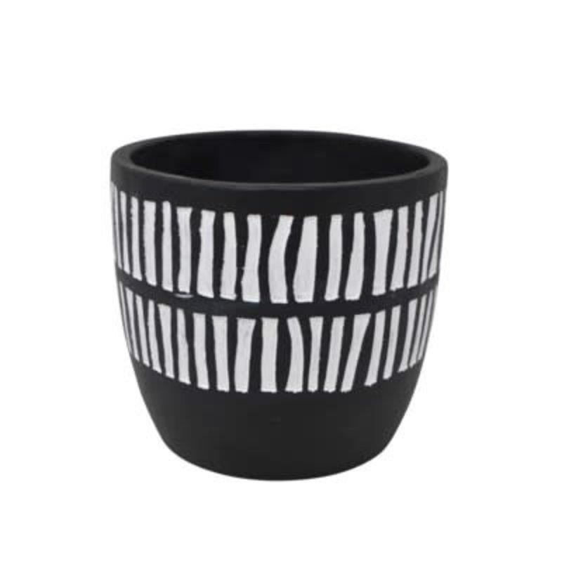 Nostalgia Vase - Black and White