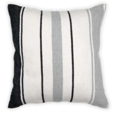 "Pokoloko Moroccan Pillow 18""x18"" Multi Stripe"