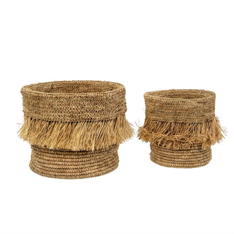 Indaba Kalahari Baskets - Set of 2 - Natural