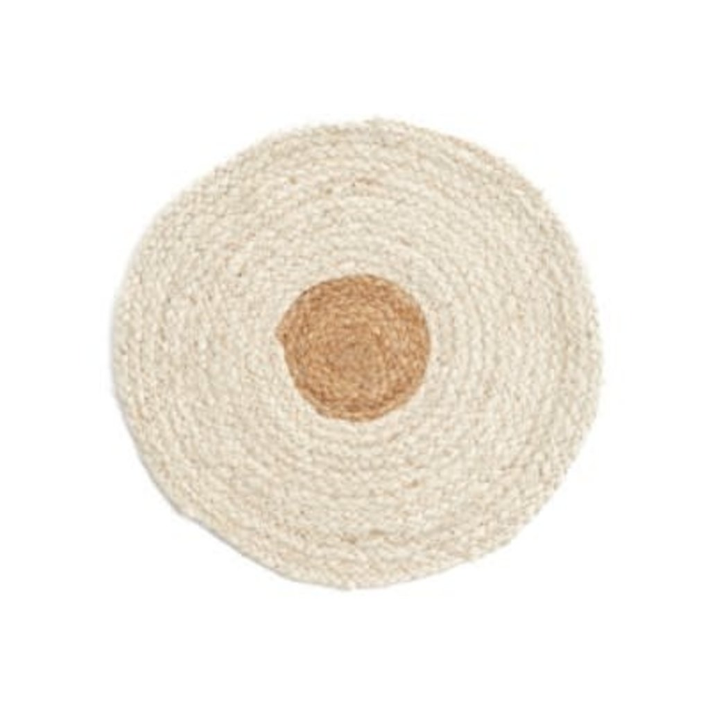 The Pine Centre Placemat - Round Jute