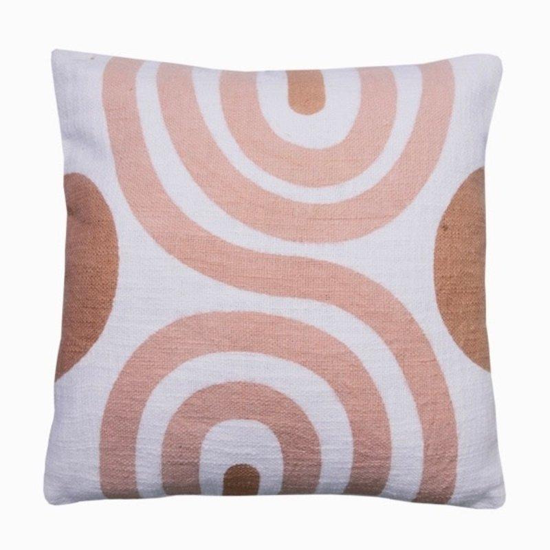 Casa Amarosa Sunset Terracota Cushion - 18x18 inch