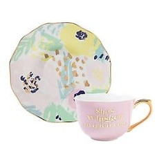 5oz Cup and Saucer - She's Whiskey