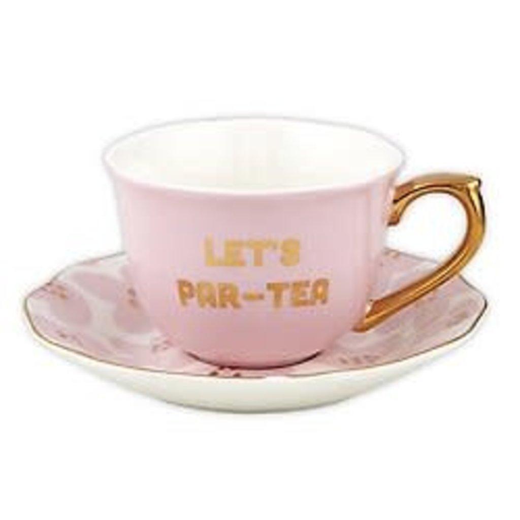 5oz Cup/Saucer- Par-Tea