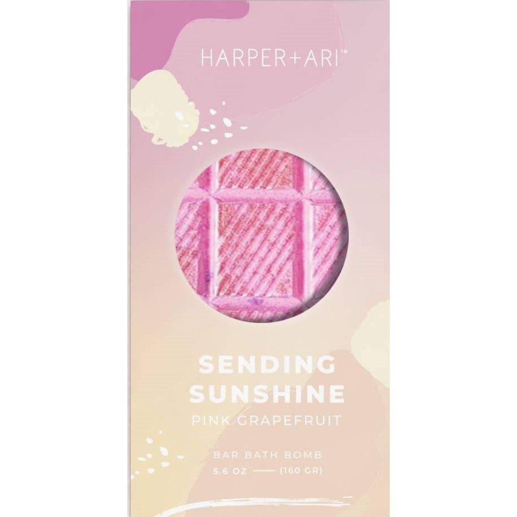 Harper + Ari Sending Sunshine Rainbow Bath Bar