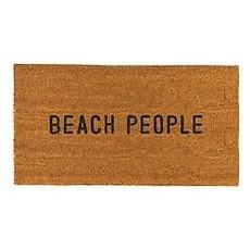 Santa Barbara Design Studio Beach People Door Mat