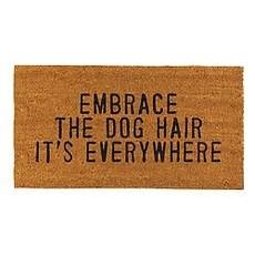 Santa Barbara Design Studio Embrace Dog Hair Door Mat