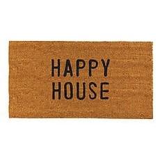 Santa Barbara Design Studio Happy House Door Mat