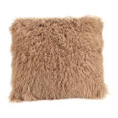Moe's Home Lamb Fur Pillow - Large - Natural