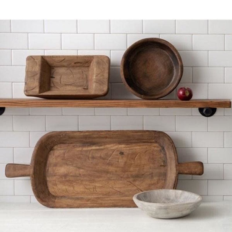 Made Market Co Found Dough Bowl Natural Small