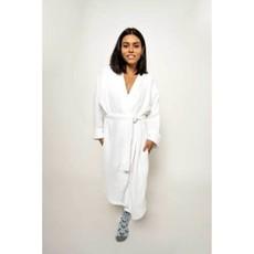 Pokoloko Crinkle Robe - White S/M