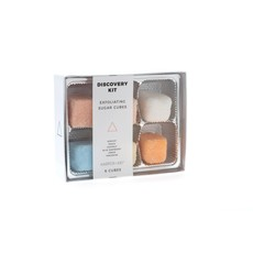 Faire Exfoliating Sugar Cubes - Discovery Kit Gift Box