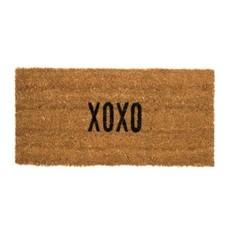 Indaba XOXO Coir Doormat