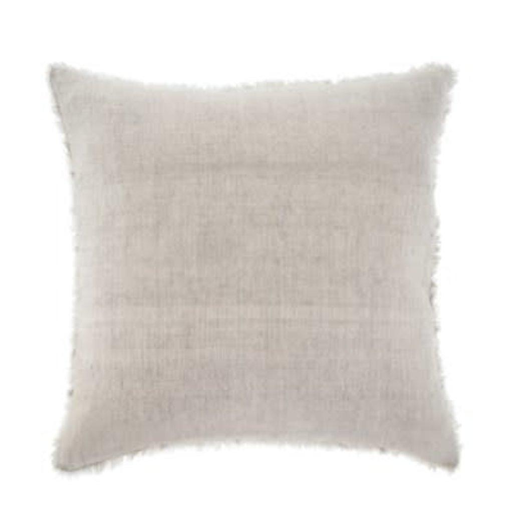 Indaba Lina Linen Pillow, Oat