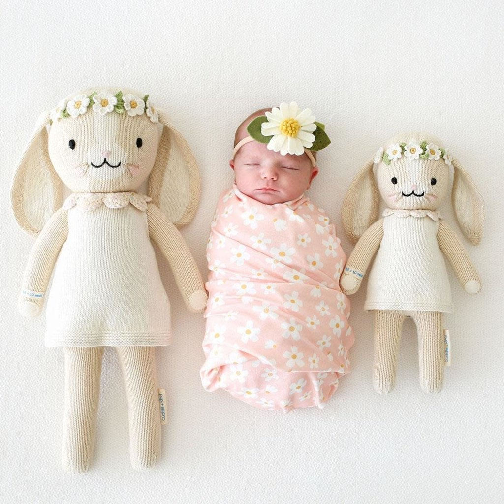 "Cuddle + Kind Hannah the Bunny White - Regular - 20"""